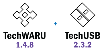 TechWARU 1.4.8 and TechUSB 2.3.2 are Now Available!