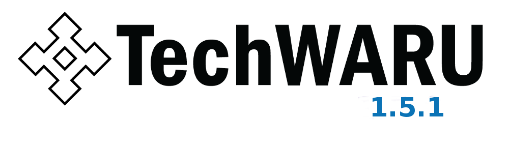 TechWARU 1.5.1 is now available!